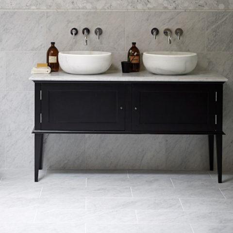 Vanity Unit with Chelsea Stone Vanity Top | Mandarin Stone