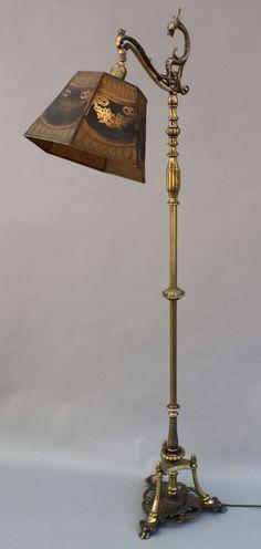 215 Best Floor lamps images | Antique lamps, Victorian lamps