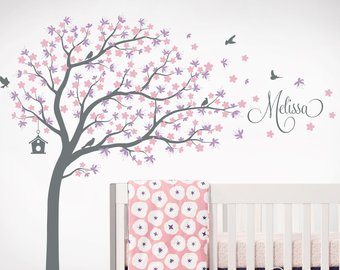 Wall decals nursery | Etsy