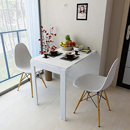 Amazon.com - Folding Table Wall Mounted Table Folding Tabel Drop