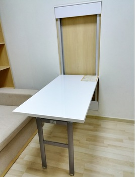 Desk Mechanism Wall Mounted Folding Down Table Hardware - Buy Wall