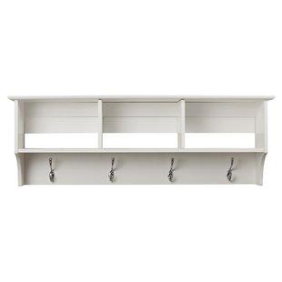 Find Elegant Wall Shelf with Hooks