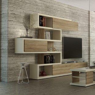 White Gloss Living Room Units | Wayfair.co.uk