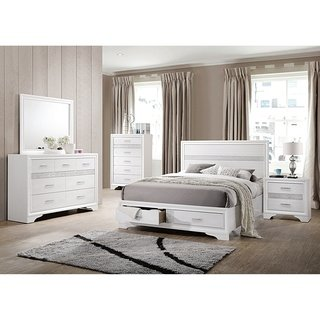 White Bedroom Set for a Sophisticated   Bedroom