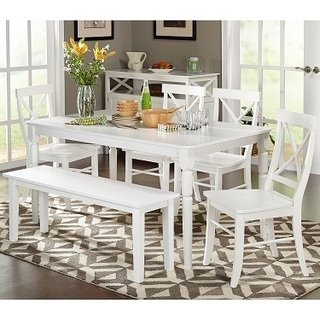 Buy White Kitchen & Dining Room Sets Online at Overstock | Our Best