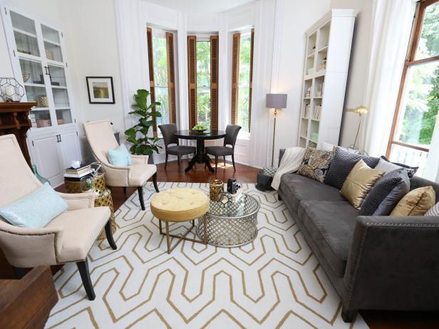 White Living Room Furniture & Decor Ideas | HGTV