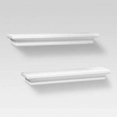 Installing a White Shelf for Elegant   Organization