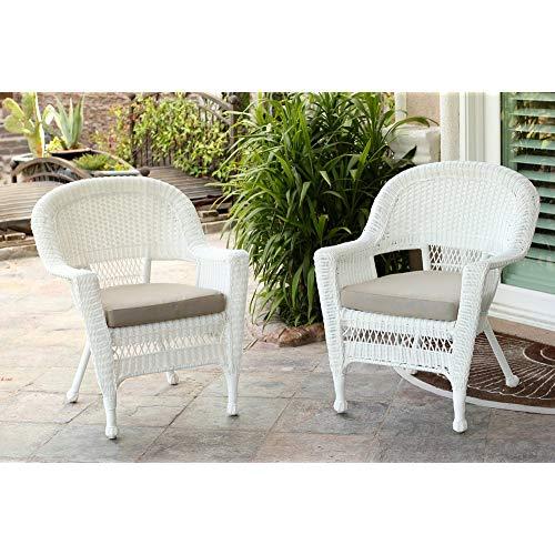 White Wicker Furniture: Amazon.com