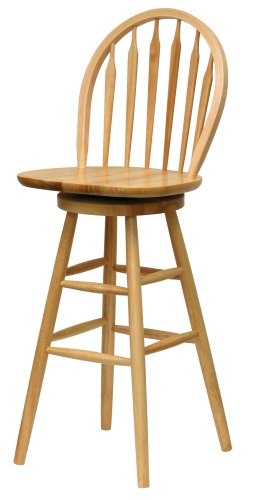 Amazon.com: Winsome Wood 89630 Wagner Stool 30