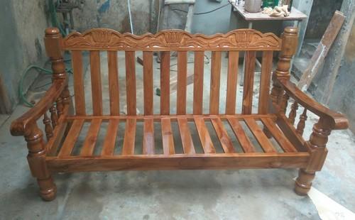 Brown Teak Wood Sofa Set, Rs 17500 /piece, Sri Saravana Furniture