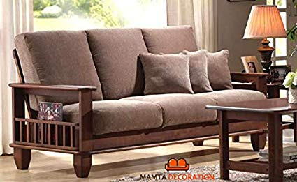 MAMTA DECORATION Solid Sheesham Wood Sofa Set Furniture for Living