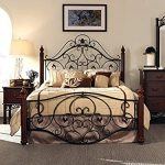Wrought Iron Beds Create Airiness and   Classiness in Your Room