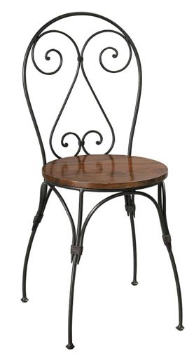 Metal Bistro Chairs, Metal Cafe Chairs, Wrought iron Chairs, Steel