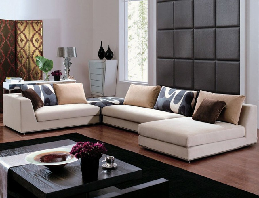 Decorate Homes With Contemporary Living Room Furniture