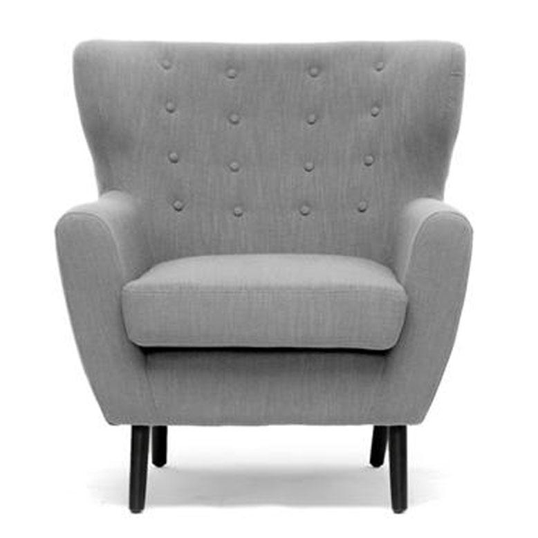 ... gray rectangle modern fabric sofa chair ideas: comfy sofa chair ideas CKGFMEM