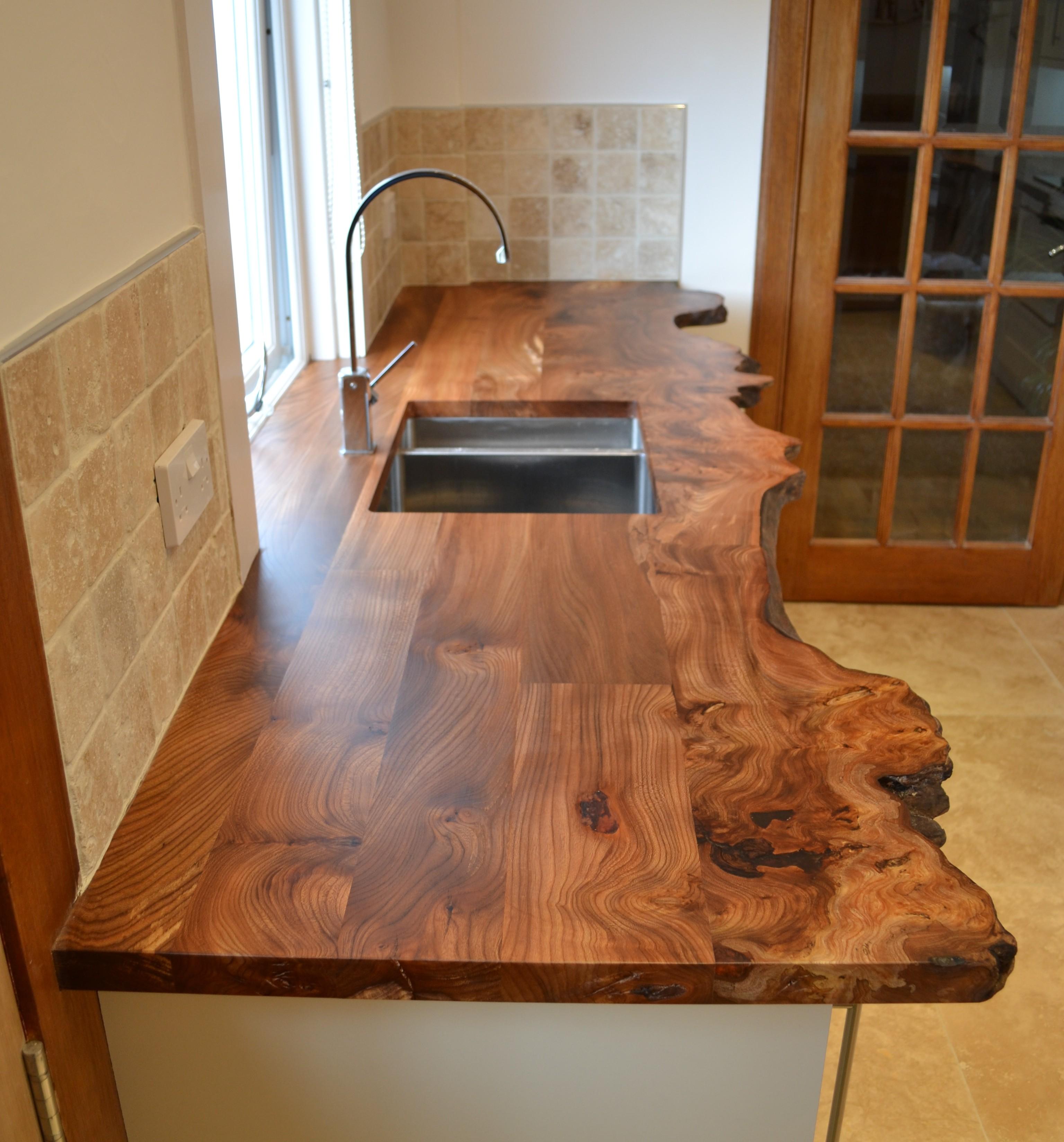 ... kitchen worktops in scottish elm clachan wood blog in kitchen worktop YUOHIUH