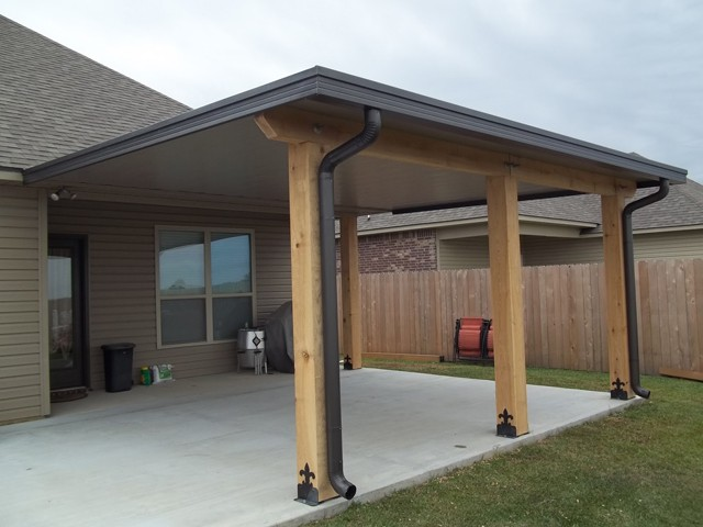 ... patio center - wood posts patio covers ... OFWTYJD