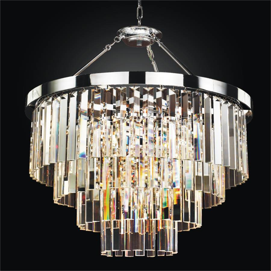 ... timeless glass chandelier semi flush mount by glow lighting TDILZAB