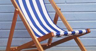 ... traditional folding hardwood garden beach deck chairs deckchairs PTTXTTI