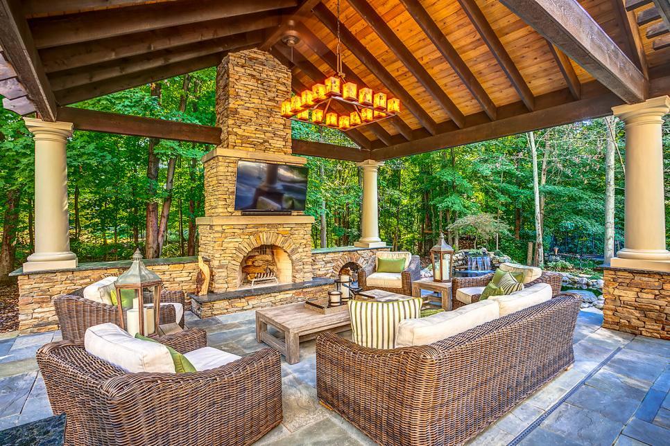 ... valuable design outdoor living room ideas 5 neutral outdoor living room LHGRMRQ