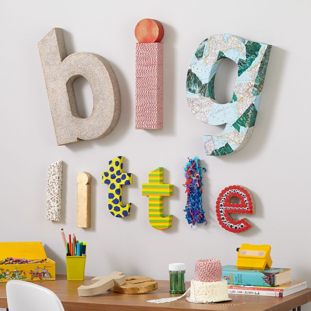 ... wall letters kids arts u0026 crafts large crafty paper letter the land UBWIDPD