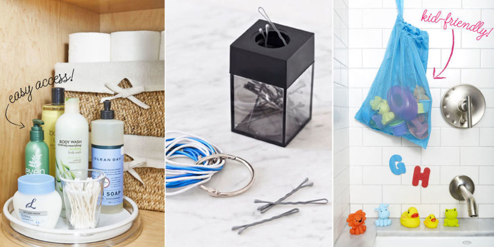 17 bathroom organization ideas - best bathroom organizers to try UWGZLZV