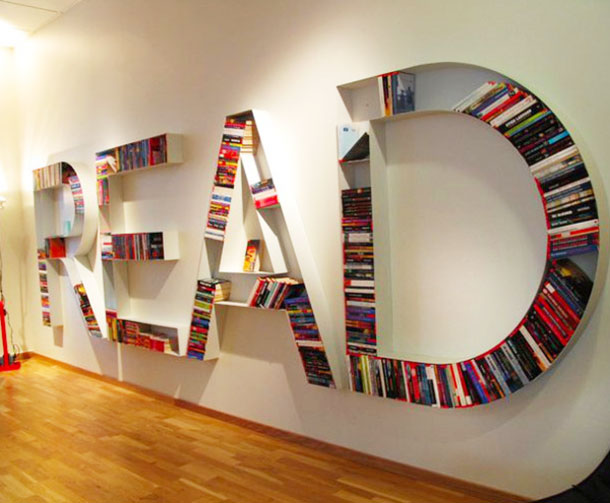 18 insanely cool bookshelves youu0027ll want to own LNGALKA