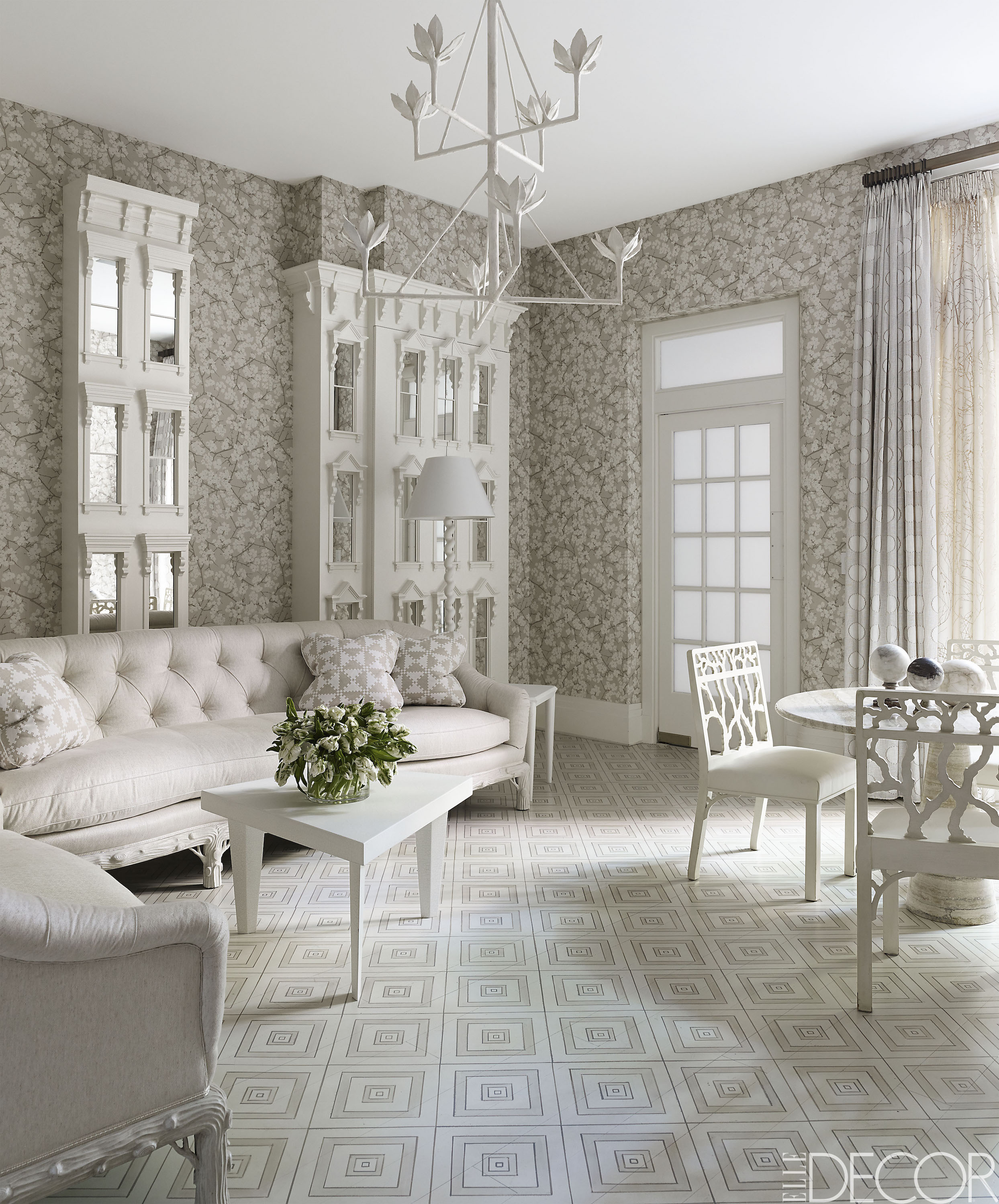 20 white living room furniture ideas - white chairs and couches MXKOTYW