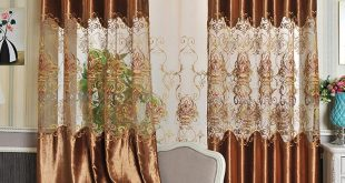 2017 2.8m width velvet curtains water dissolving lace curtains hollow  fashion design XZYDHKH