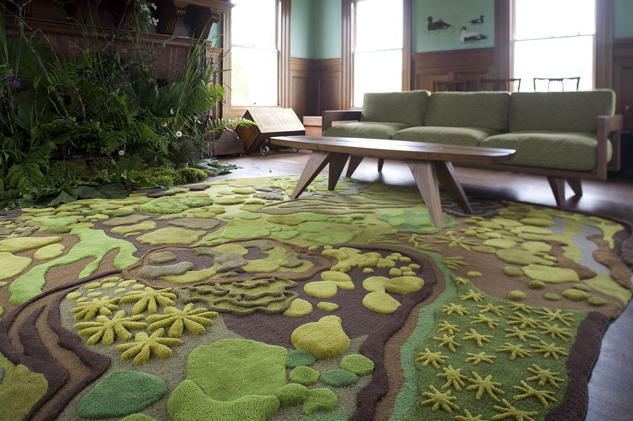 21 cool rugs that put the spotlight on the floor MHOBFLU