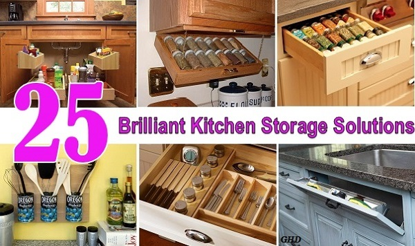25 brilliant kitchen storage solutions MDJWBBJ