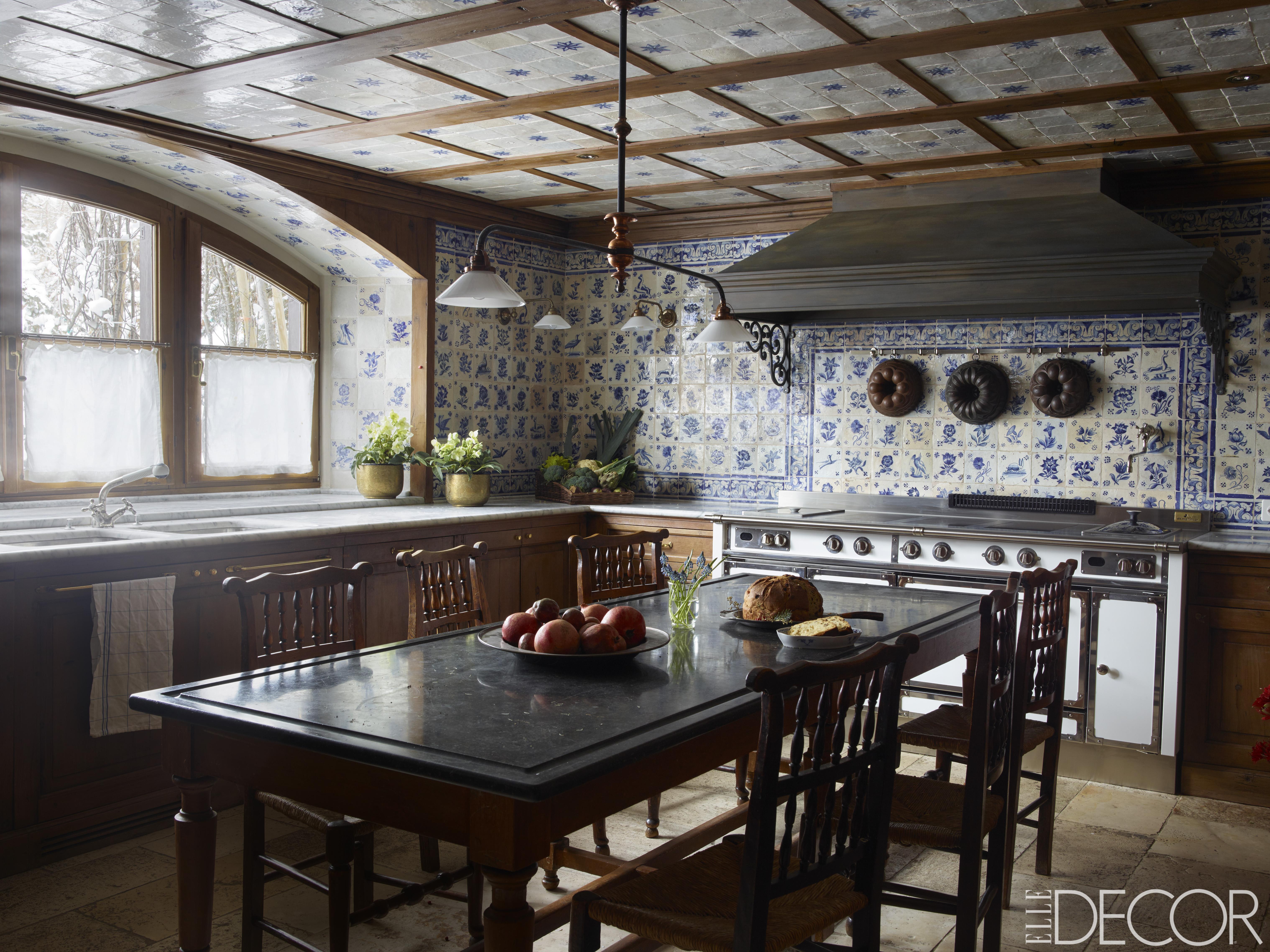 25 rustic kitchen decor ideas - country kitchens design SFIKOIB