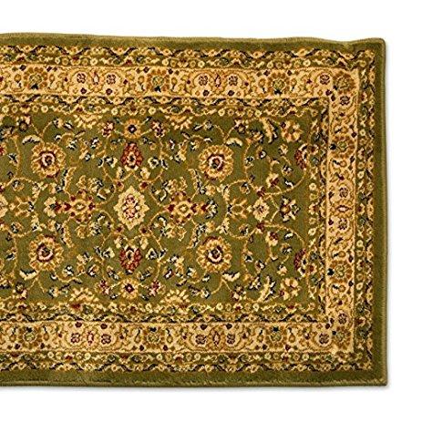 25u0027 stair runner rugs - marash luxury collection stair carpet runners (sage) MVTRNJV
