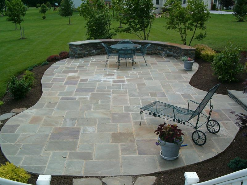 26 awesome stone patio designs for your home QGDYFNO