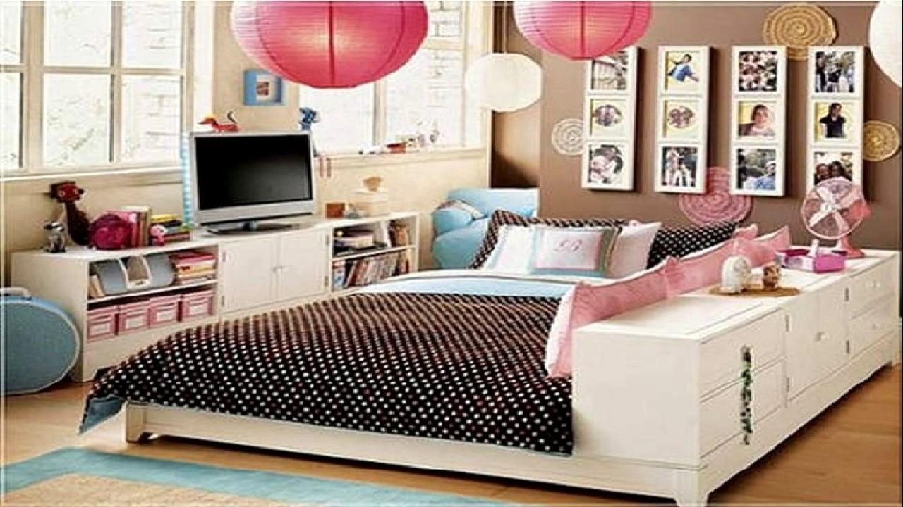 28 cute bedroom ideas for teenage girls - room ideas - youtube WSFPFFU
