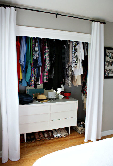 30 closet organization ideas - best diy closet organizers XKOMTLM