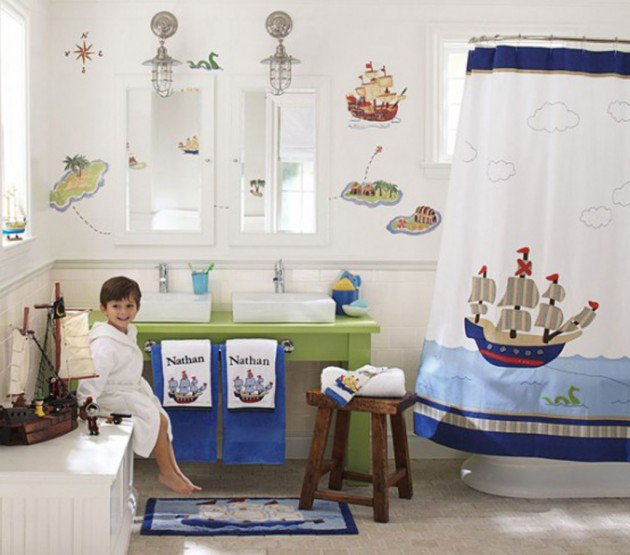 30 colorful and fun kids bathroom ideas MKPNHZJ