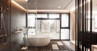 30 modern bathroom design ideas for your private heaven - freshome.com IERTYHL