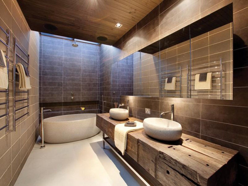 30 modern bathroom design ideas for your private heaven - freshome.com QWFBEHR