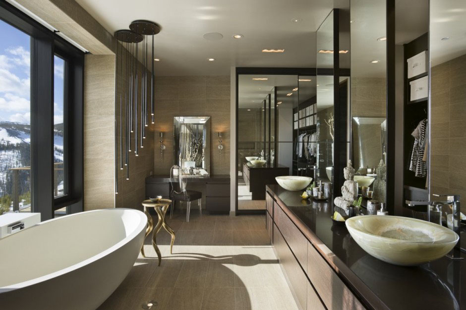 30 modern bathroom design ideas for your private heaven - freshome.com XHJAQRZ
