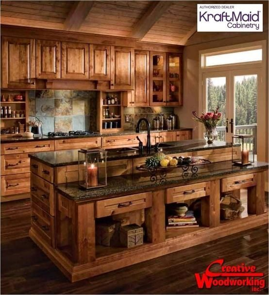 40 rustic kitchen designs to bring country life HWUKSUP