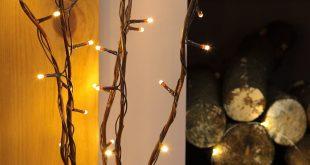 5 x 87cm decorative twig lights with 50 warm white leds by festive SYBRMWB