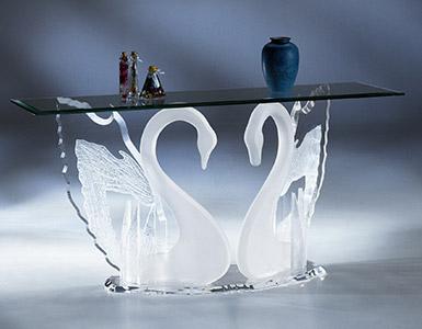 acrylic furniture acrylic console u0026 sofa tables BNTVJDG