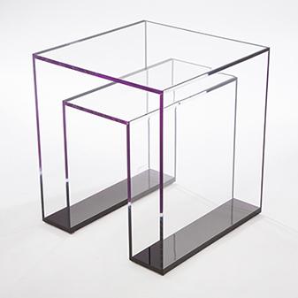 acrylic furniture brilliant acrylic side table OREDDBY