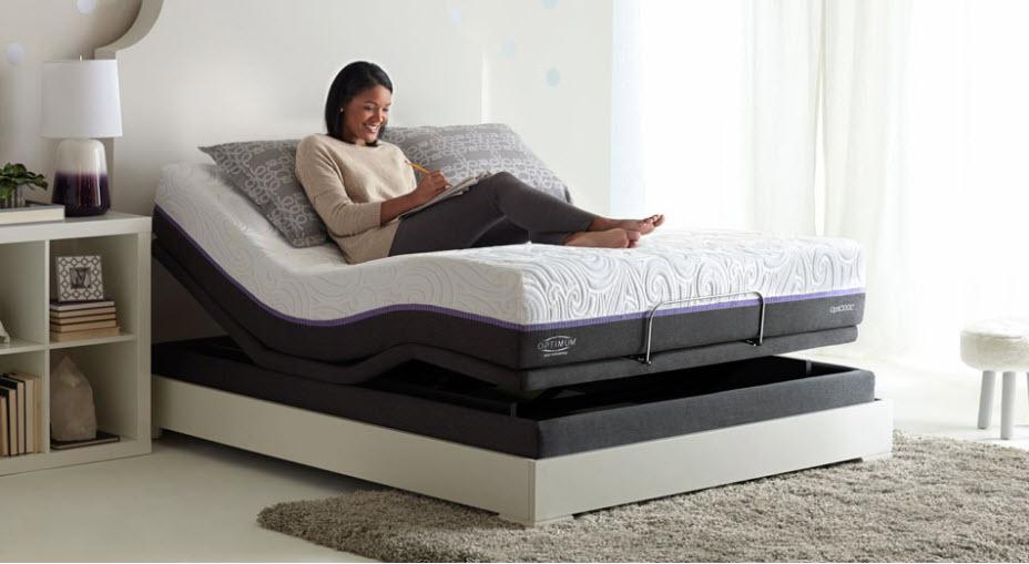 adjustable mattress adjustable base JVPAVQE