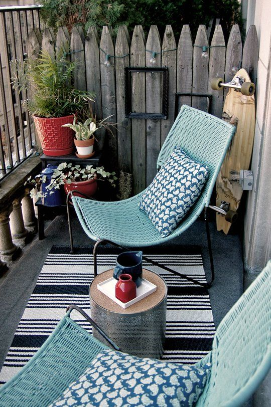 adore trendiest small patio furniture - carehomedecor DPNQXYQ
