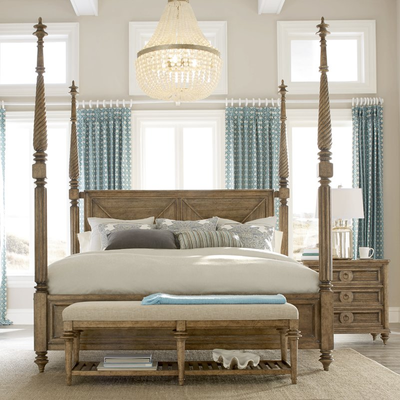 akrotiri four poster bed VAYSOBR