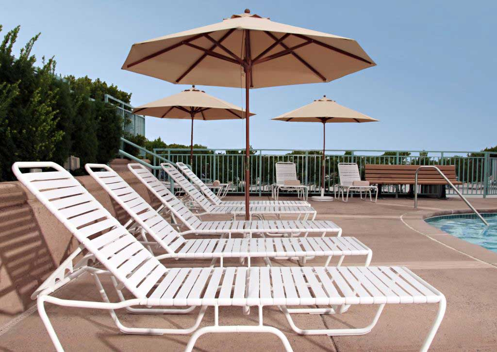 aluminum patio furniture and pool furniture LJLJNGU