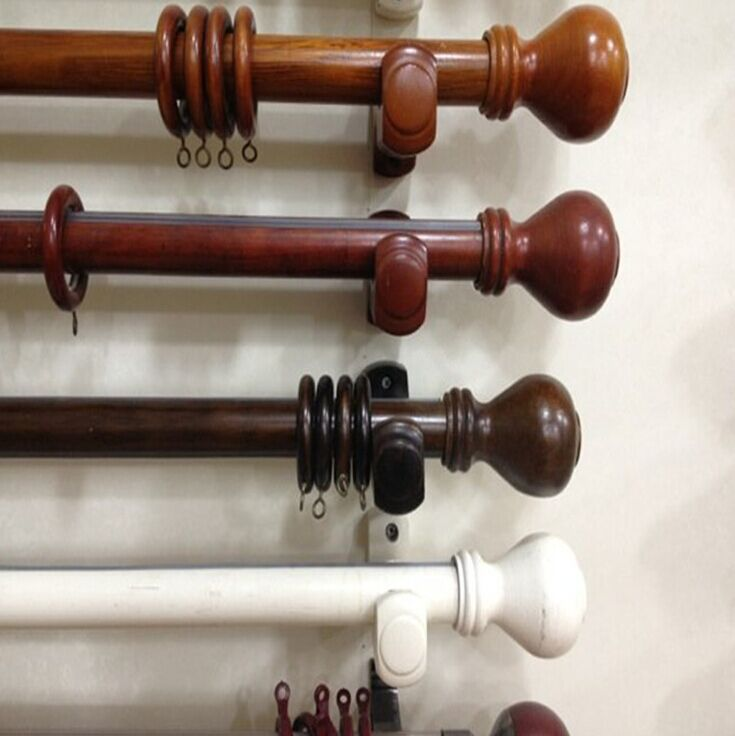 amazing how to choose wooden curtain rods for your home goodworksfurniture wooden MZGBSQG