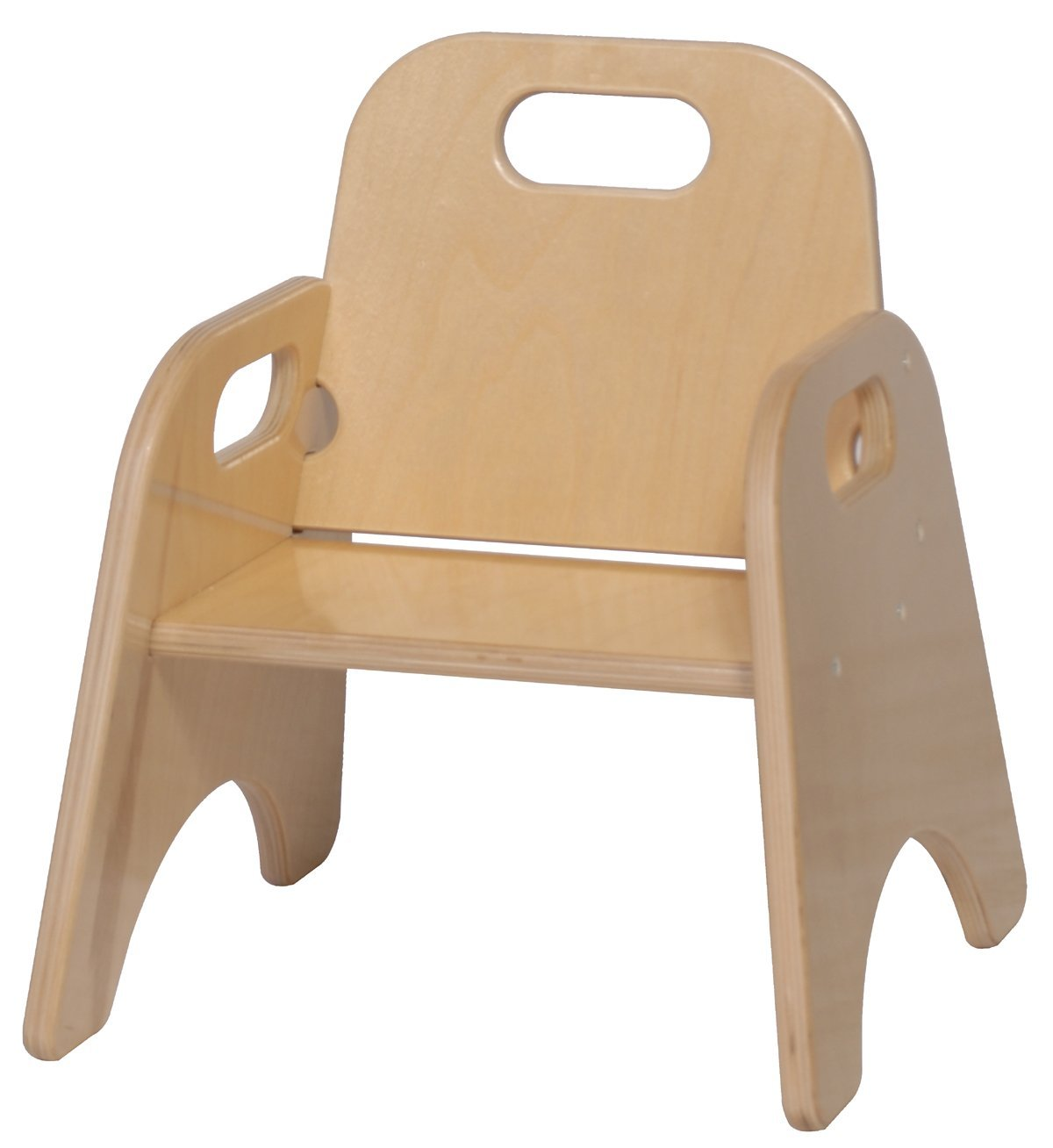amazon.com: steffy wood products 7-inch toddler chair: kitchen u0026 dining QSEOAJV
